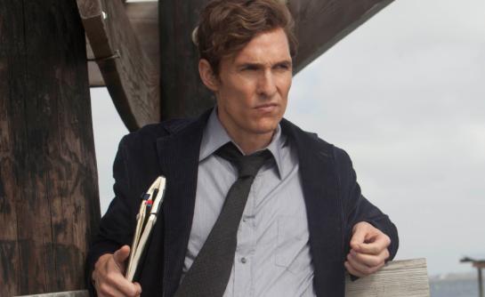 "Matthew McConaughey in ""True Detective.""  HBO.  2014."