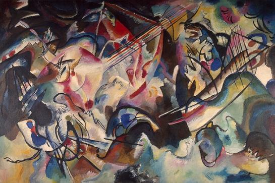 Vasily Kandinsky. Composition VI. 1913. The State Hermitage Museum, St. Petersburg.