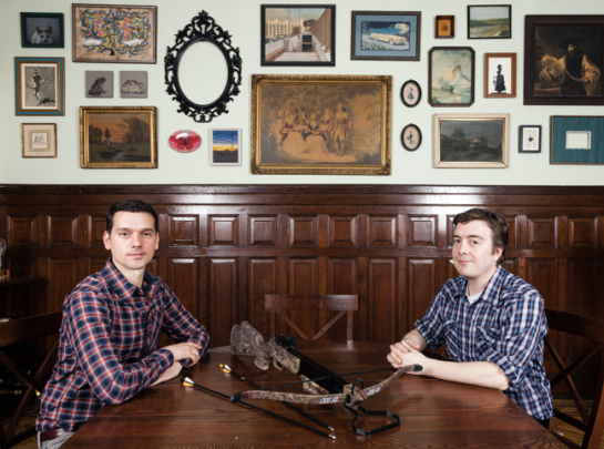 Jeremy Saulnier and Macon Blair.  Robert Wright for The New York Times.