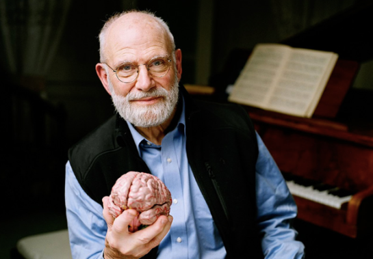 Oliver Sacks. Photo by Adam Scourfield.
