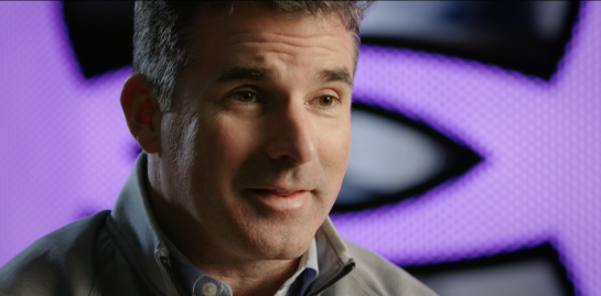 Kevin Plank, CEO & founder of Under Armour. 2016.